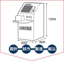 発券機イメージ