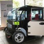 電気自動車HOKUSAI