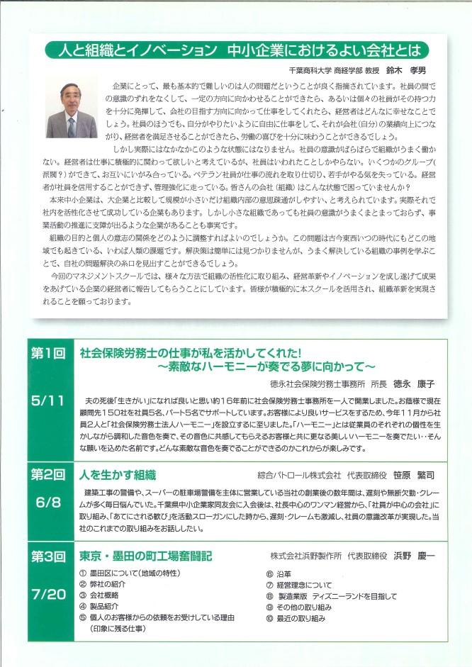 130720千葉商科大学「2013 CUC中小企業 マネジメントスクール 講演
