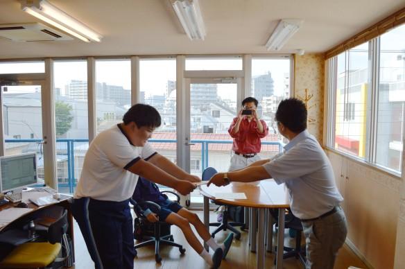 130711墨田中学校職場体験