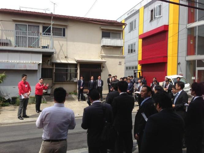 130510日本青年会議所鉄鋼機械工業部会工場見学