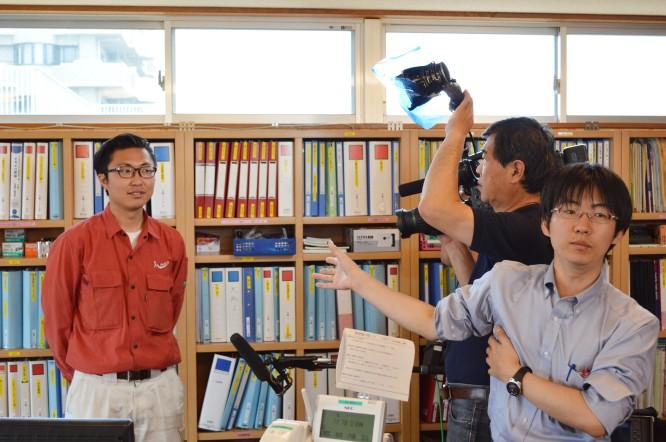 130702テレビ東京ワールドビジネスサテライト撮影