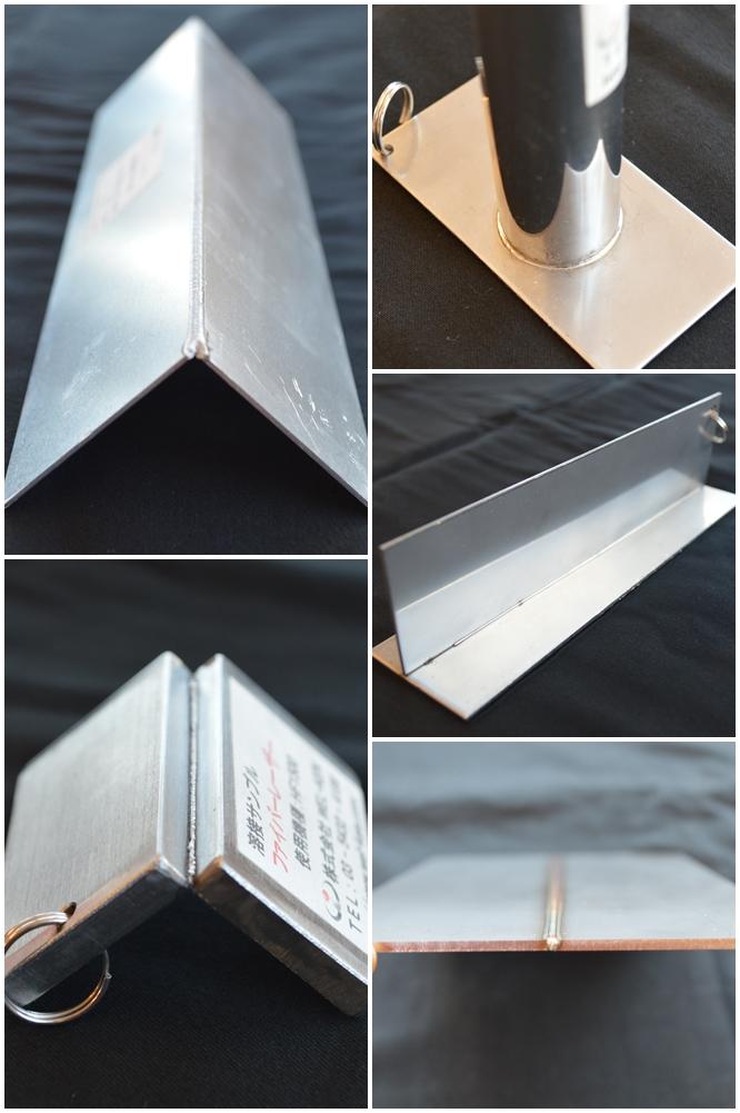 ファイバーレーザー溶接サンプル