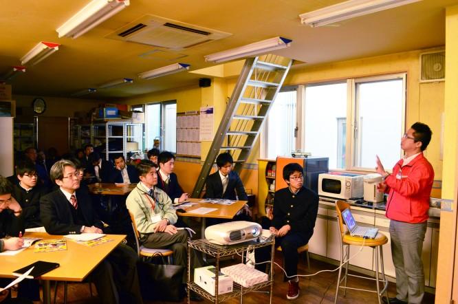 140219福島県磐城高校工場見学