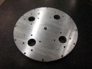 ニュートリノ観測機エンドキャップ