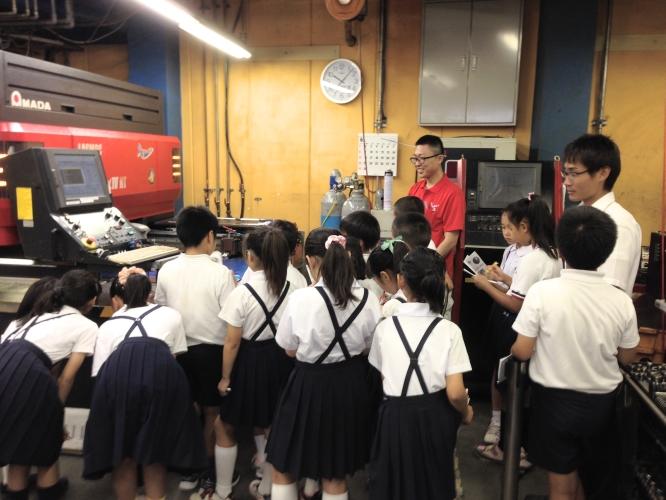 140630東京朝鮮第五初中級学校工場見学