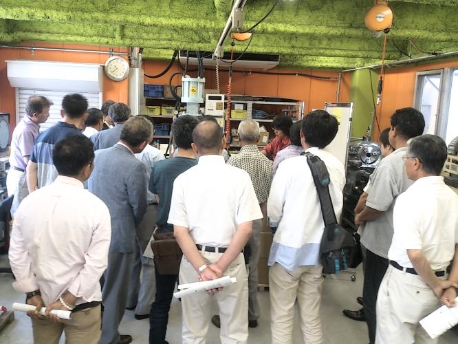 140722昭和町商工会工場見学