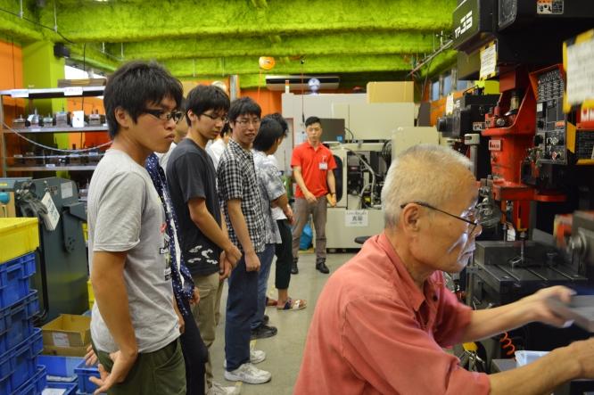 140820東京工業大学・ロボット技術研究会(ロ技研)工場見学 (2)
