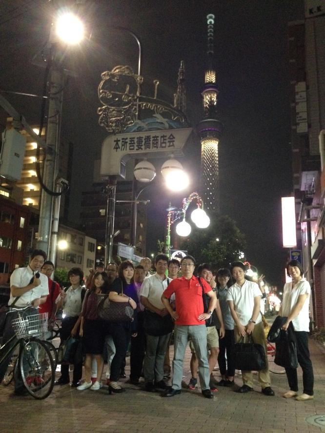 140903夏季インターンシップ&社長のカバン持ち歓送迎会 (2)