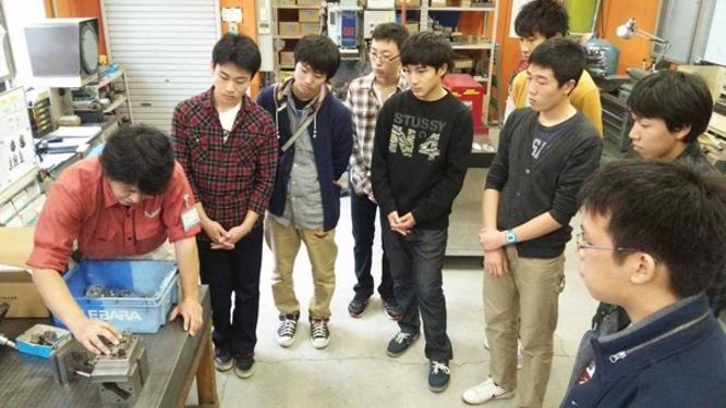 141105北海道士別市・翔雲高等学校修学旅行生工場見学