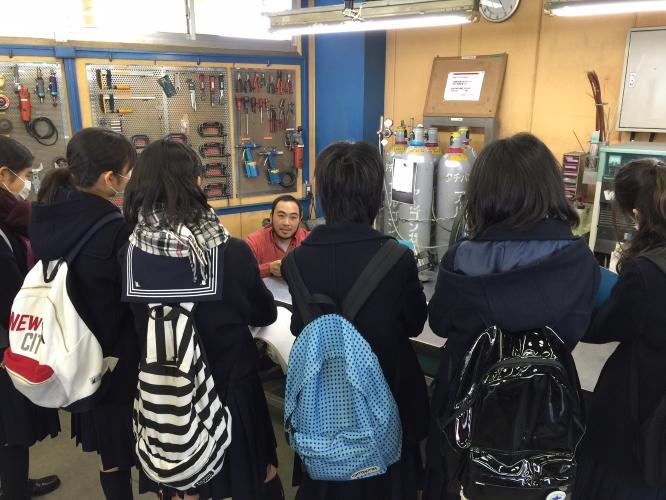141212成蹊中学校工場見学&配財プロジェクトワークショップ