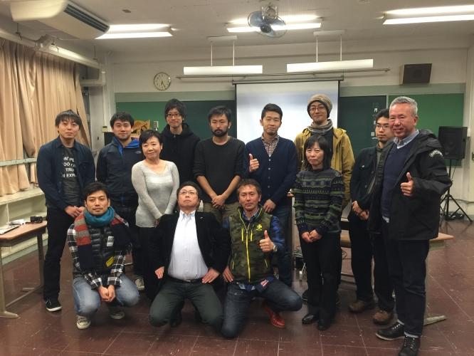 141207世田谷ものづくり学校にて開催された「TOKYO FEBBERS' FES 2014」のFABBERS' MEETINGにてFABスペース経営の謎編