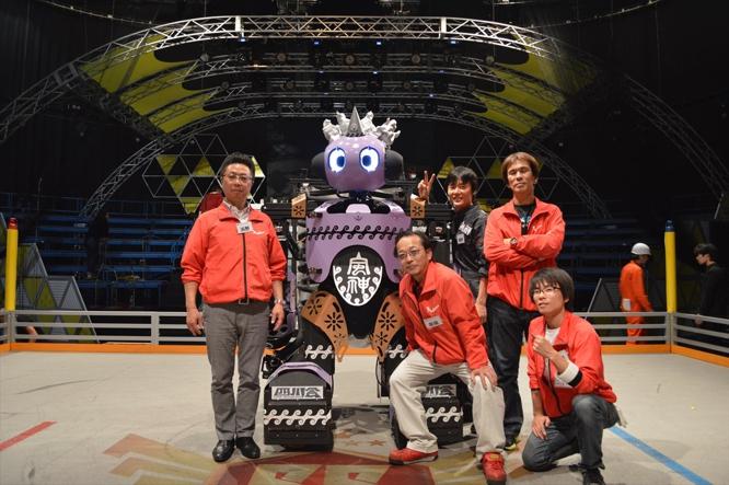 141202リアルロボットバトル_風神ロボット