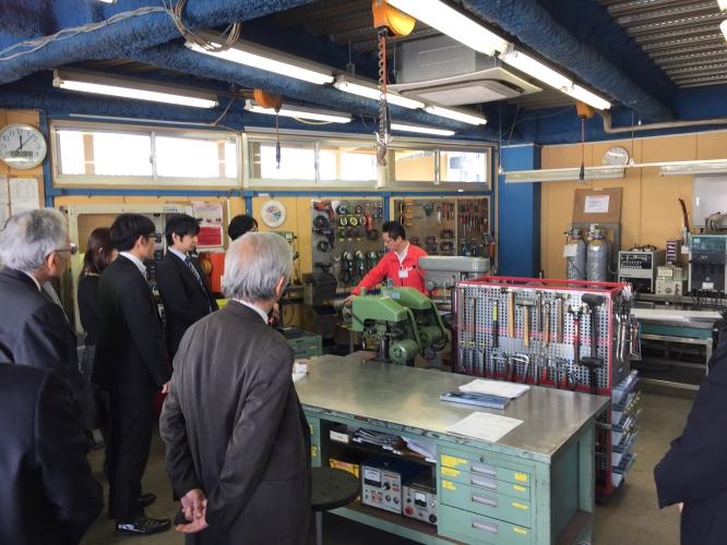 150203埼玉県商工会連合会工場見学