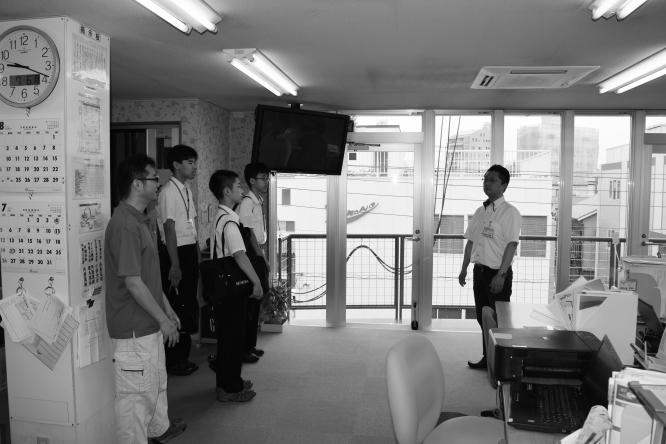 150706墨田中学校職場体験