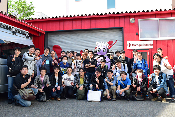 160419日本工学院八王子専門学校工場見学 (2)