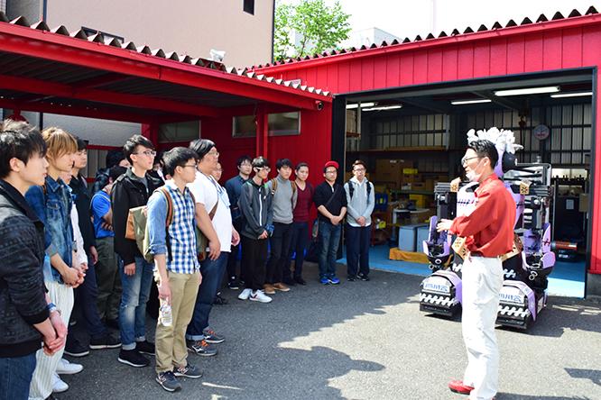 160419日本工学院八王子専門学校工場見学 (1)
