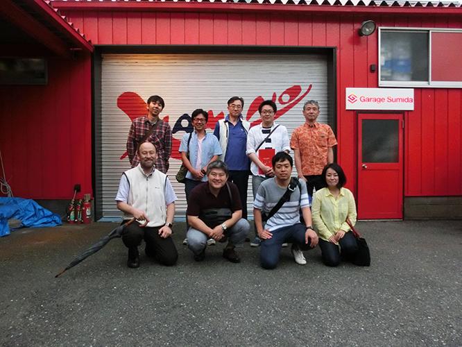 160625北陸先端科学技術大学院大学JAIST工場視察